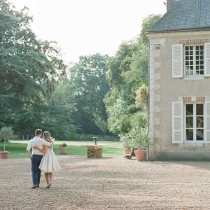 chateau, en couple